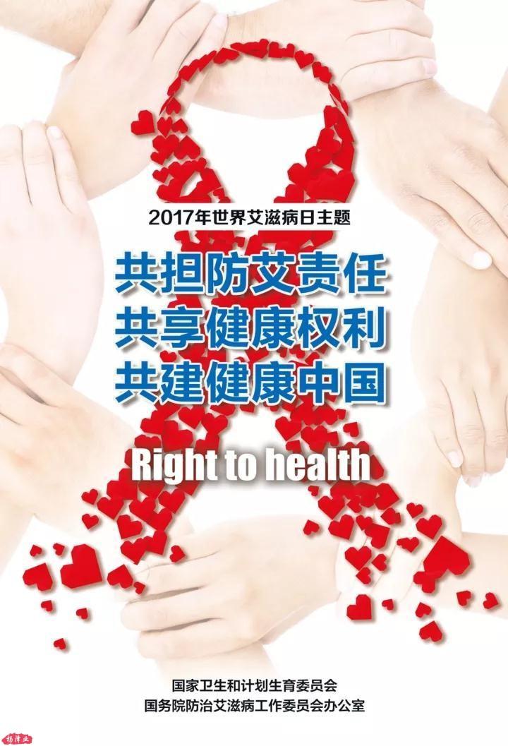 2017年世界艾滋病日宣传主题