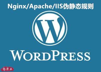 Nginx/Apache/IIS伪静态规则